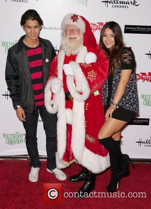 Boo Boo Stewart, Fivel Stewart and Santa Claus...