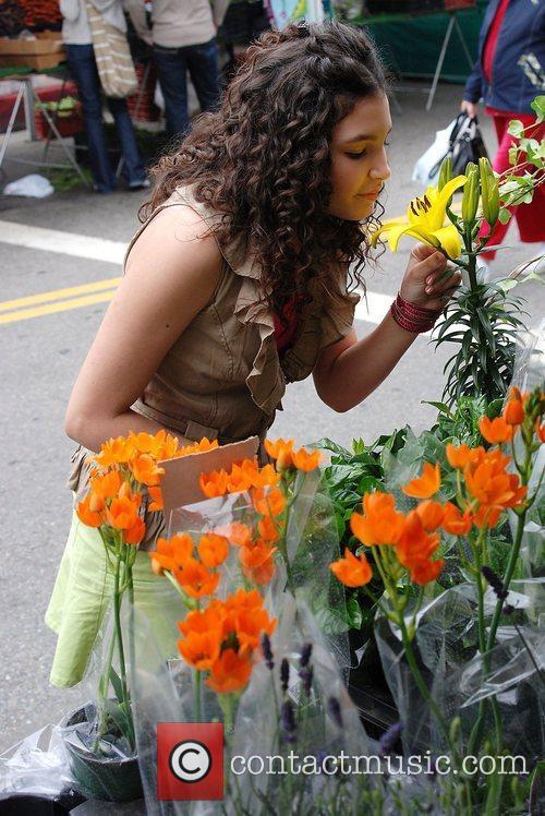 Kiona Lyz Rivera Celebrities spend the day shopping...