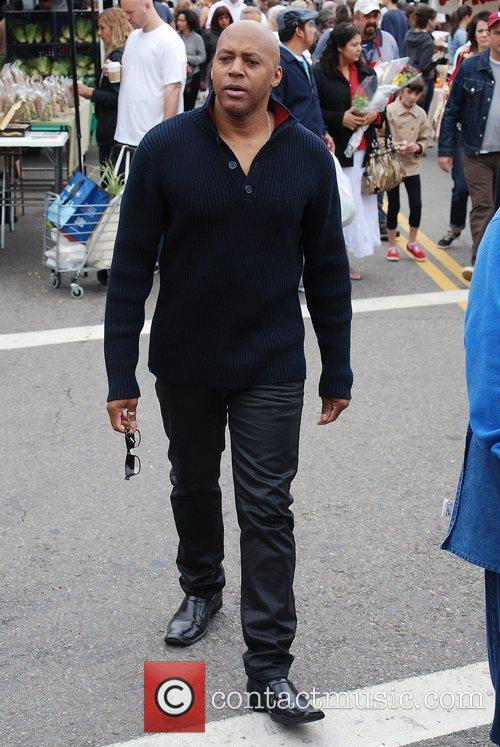 Gary Tyron Johnson Celebrities spend the day shopping...