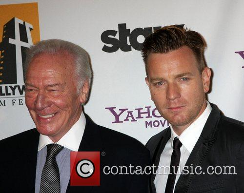 Christopher Plummer, Ewan Mcgregor and Beverly Hilton Hotel 1