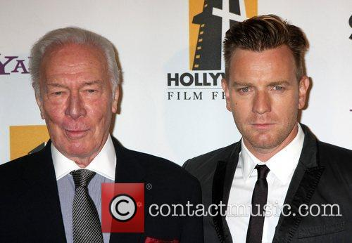 Christopher Plummer, Ewan Mcgregor and Beverly Hilton Hotel 2