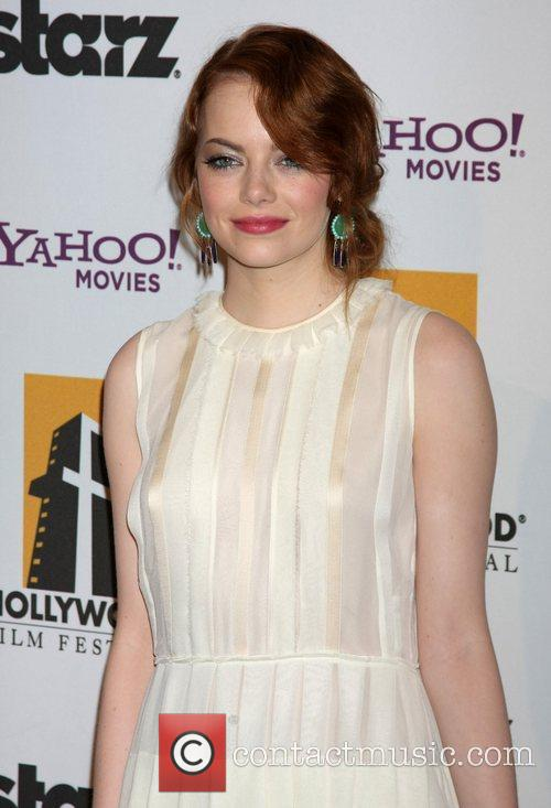 Emma Stone and Beverly Hilton Hotel 3