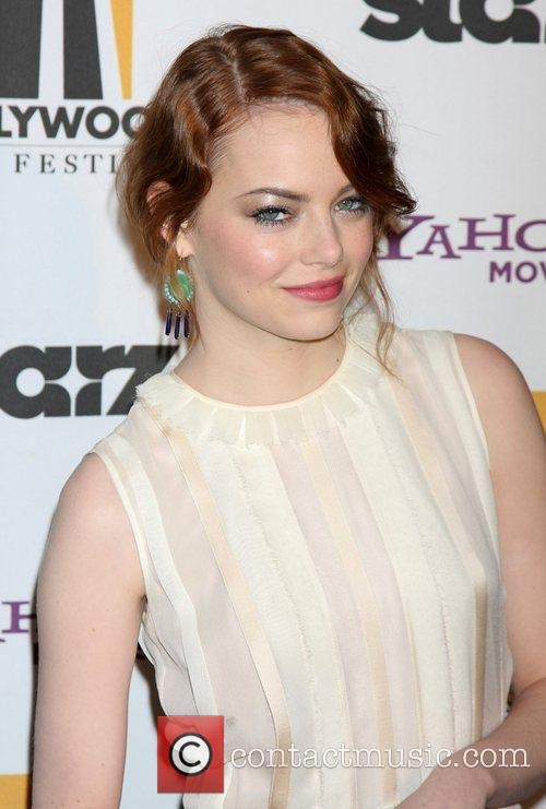 Emma Stone and Beverly Hilton Hotel 2