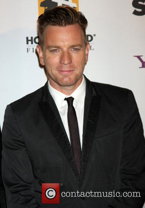 Ewan Mcgregor and Beverly Hilton Hotel 1