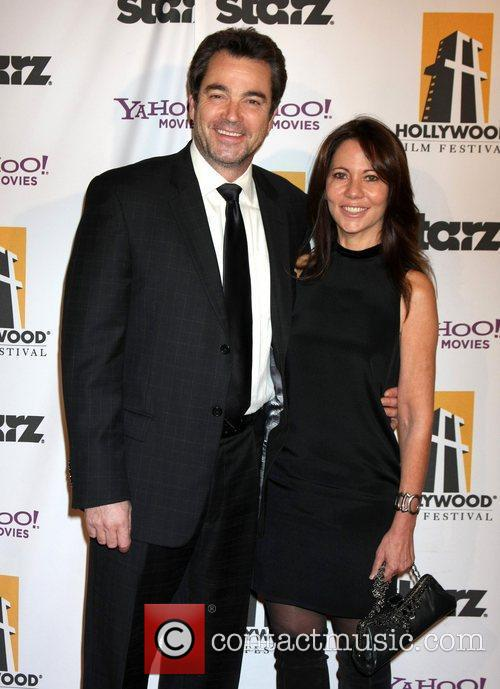 Jon Tenney and Beverly Hilton Hotel 1