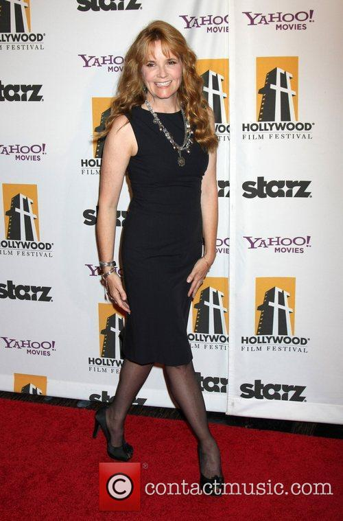 Lea Thompson and Beverly Hilton Hotel 1