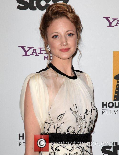 Andrea Riseborough and Beverly Hilton Hotel 3