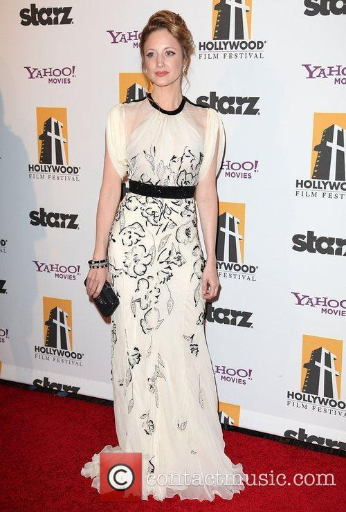 Andrea Riseborough and Beverly Hilton Hotel 1