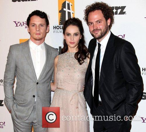 Anton Yelchin, Drake, Felicity Jones and Beverly Hilton Hotel 4
