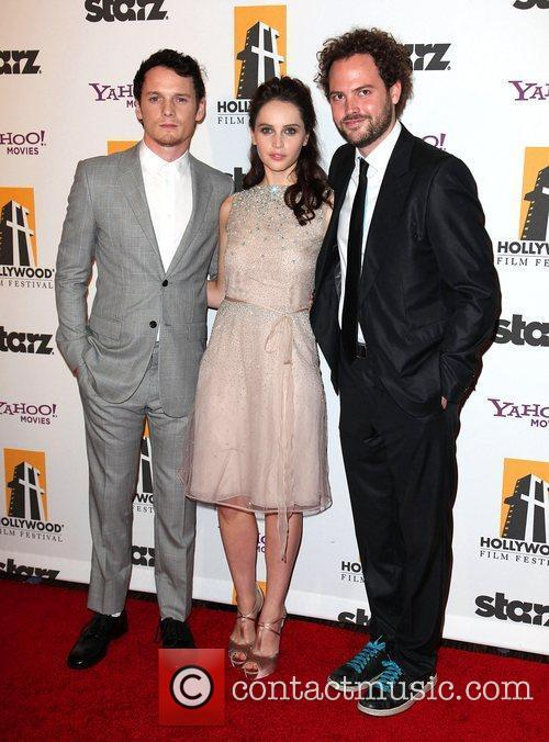 Anton Yelchin, Drake, Felicity Jones and Beverly Hilton Hotel 6