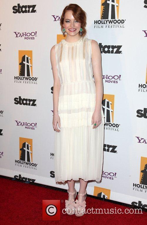 Emma Stone and Beverly Hilton Hotel 4