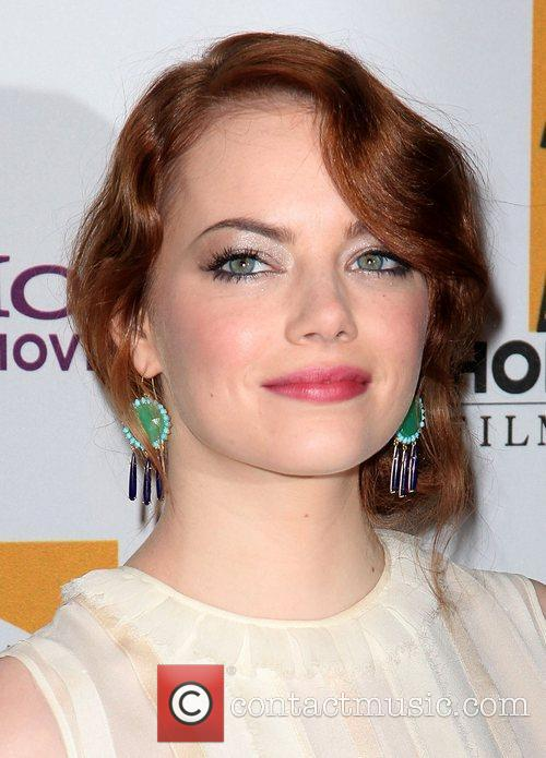 Emma Stone and Beverly Hilton Hotel 6