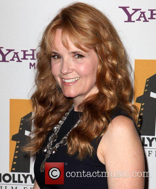 Lea Thompson and Beverly Hilton Hotel 2
