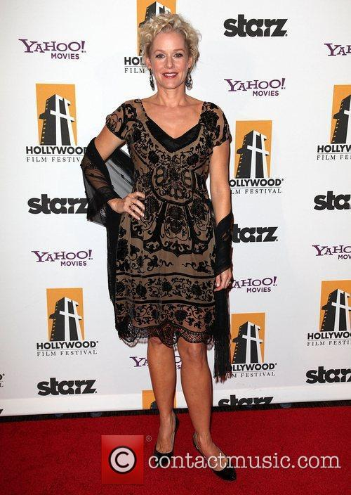 Penelope Ann Miller, George Clooney and Beverly Hilton Hotel 1