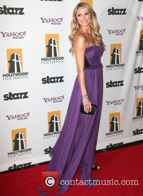 Stacy Keibler and Beverly Hilton Hotel 1