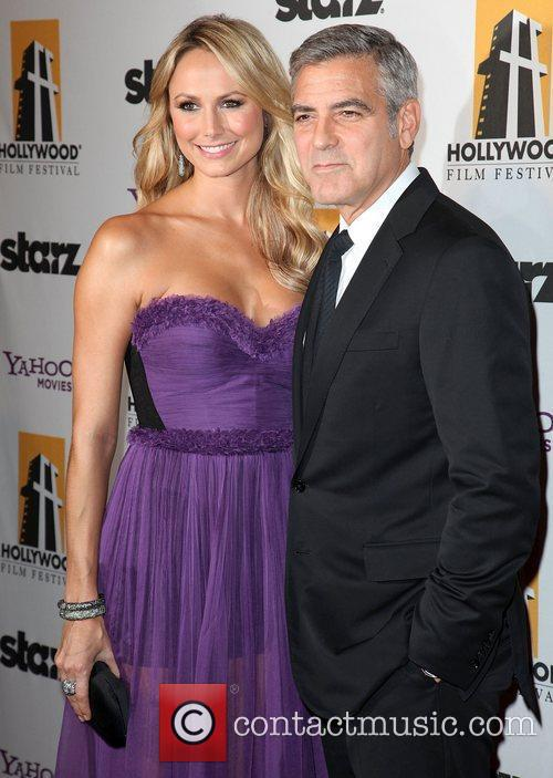Stacy Keibler, George Clooney and Beverly Hilton Hotel 8