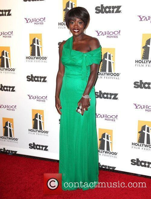 Viola Davis and Beverly Hilton Hotel 3