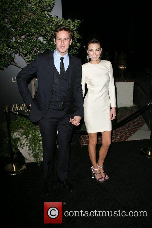 Armie Hammer and Elizabeth Chambers The Hollywood Reporter...