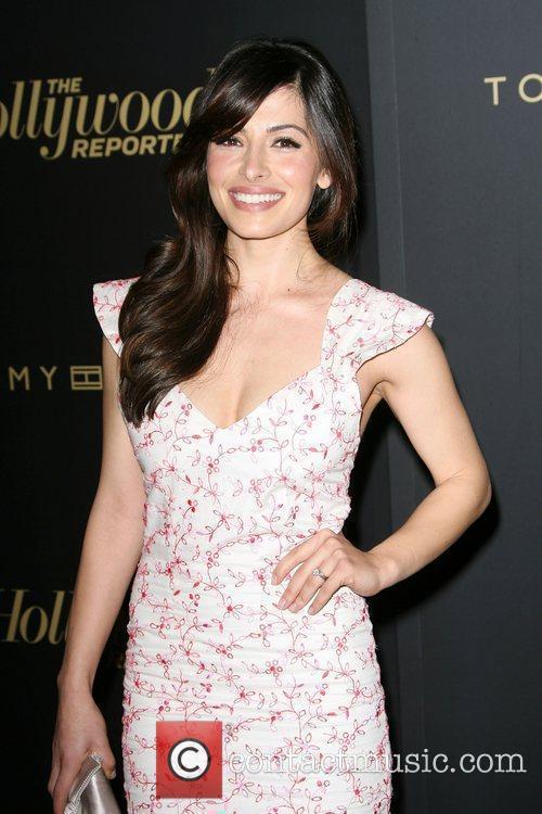 Sarah Shahi The Hollywood Reporter Big 10 Party...
