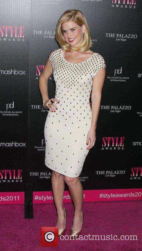 Alice Eve 2011 Hollywood Style Awards at Smashbox...