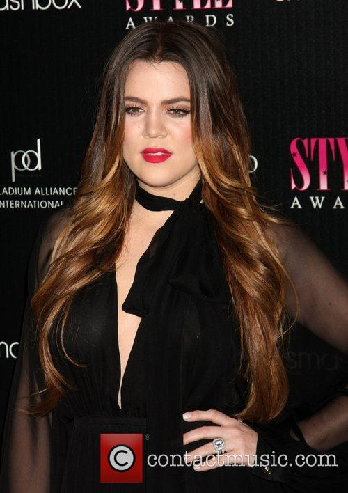 Khloe Kardashian 2011 Hollywood Style Awards at Smashbox...