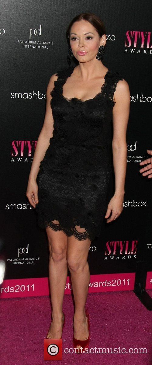 Rose McGowan 2011 Hollywood Style Awards at Smashbox...