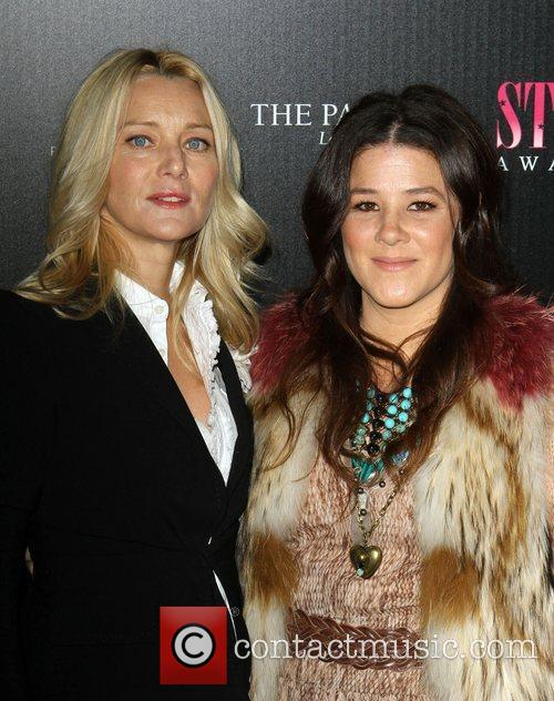 Angela Featherstone, Tracey Cunningham 2011 Hollywood Style Awards...