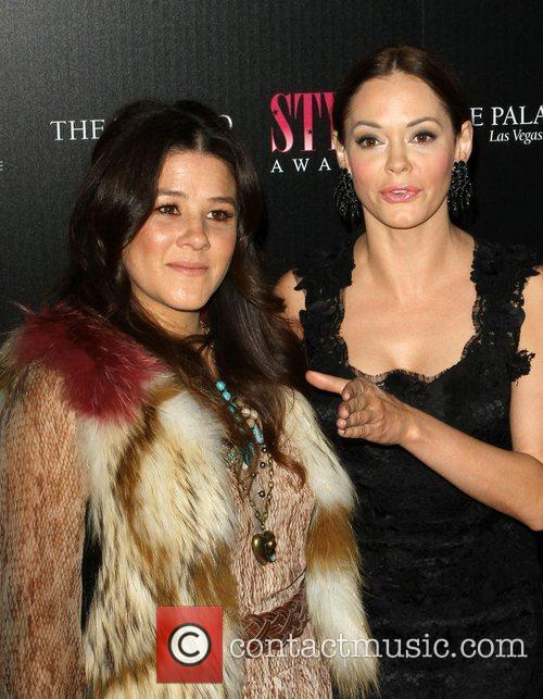 Tracey Cunningham and Rose McGowan 2011 Hollywood Style...