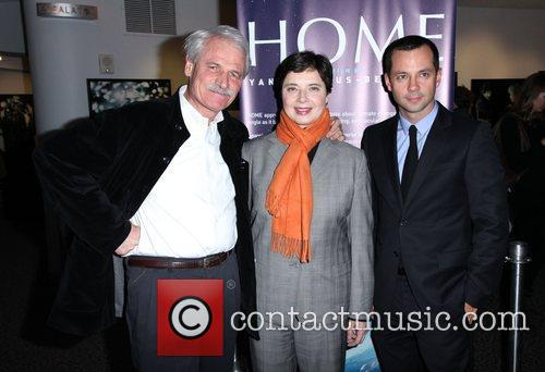 Yann Arthus-Bertrand, Isabella Rossellini and Laurent Claquin The...