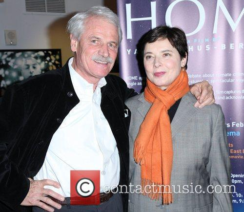 Yann Arthus-Bertrand and Isabella Rossellini The New York...