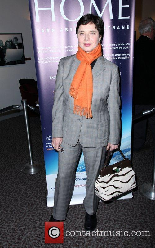 Isabella Rossellini The New York premiere of 'Home'...