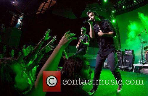 Hoobastank perform live at TMN Ao Vivo Lisbon,...