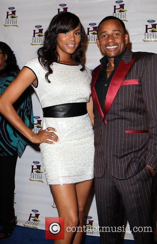 Letoya Luckett and Hill Harper