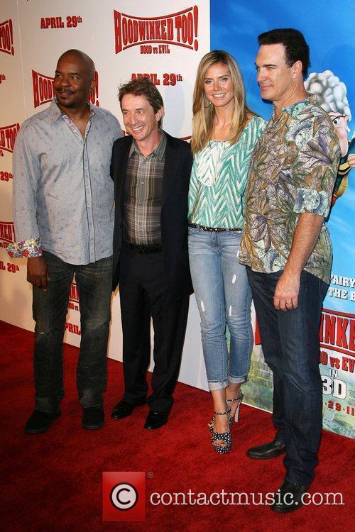 David Alan Grier, Heidi Klum, Martin Short and Patrick Warburton 5