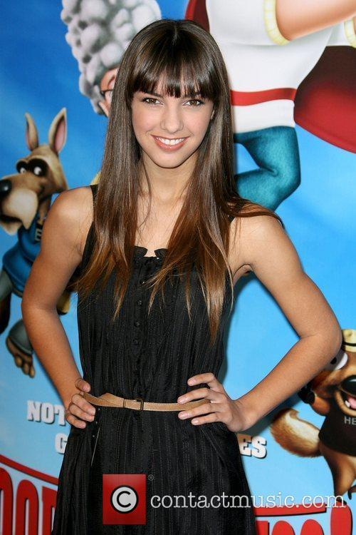Denyse Tontz Los Angeles premiere of Hoodwinked Too!...