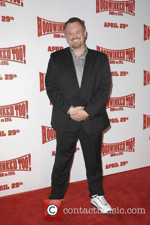 Mike Disa Los Angeles premiere of Hoodwinked Too!...