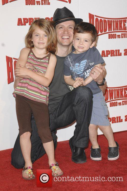 Tom Malloy Los Angeles premiere of Hoodwinked Too!...