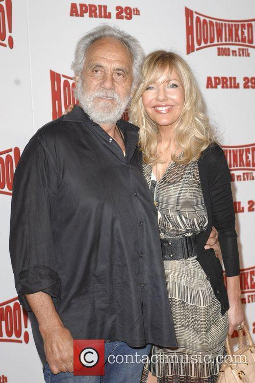 Tommy Chong, Shelby Chong Los Angeles premiere of...