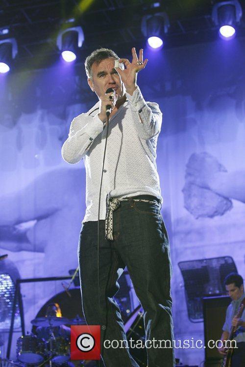 Morrissey,  at the Hop Farm Festival 2011...