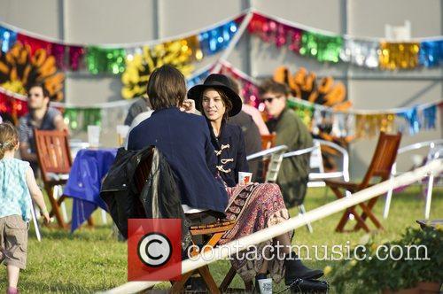 Alexa Chung Hop Farm Festival 2011 - Day...