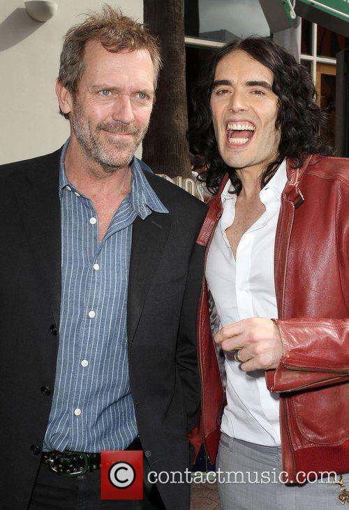 Hugh Laurie and Russell Brand 1