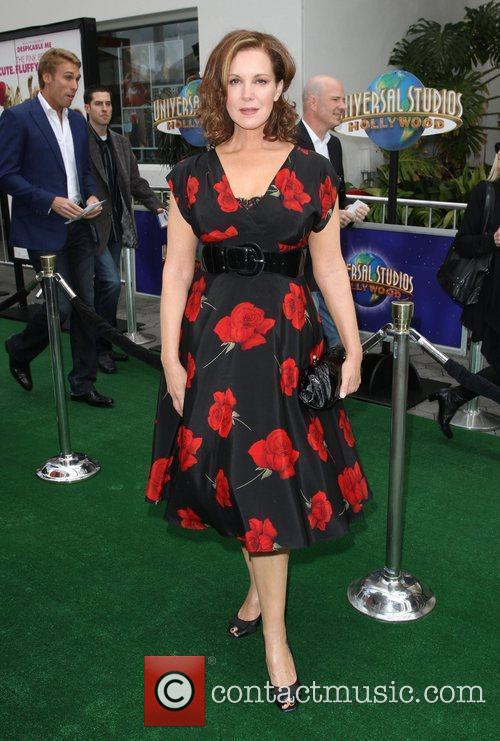 Elizabeth Perkins Los Angeles premiere of 'Hop' at...