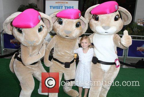Elsie Fisher Los Angeles premiere of 'Hop' at...