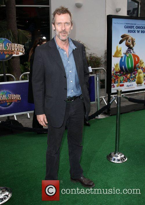 Hugh Laurie Los Angeles premiere of 'Hop' at...