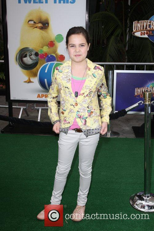 Bailee Madison Los Angeles premiere of 'Hop' at...