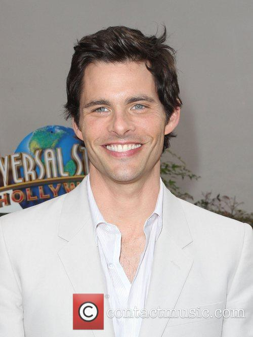 James Marsden Los Angeles premiere of 'Hop' at...