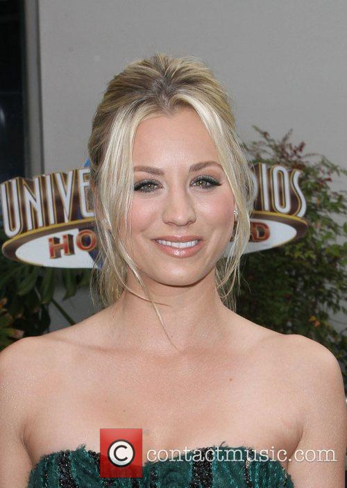 Kaley Cuoco Los Angeles premiere of 'Hop' at...