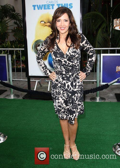 Maria Canals Barrera Los Angeles premiere of 'Hop'...