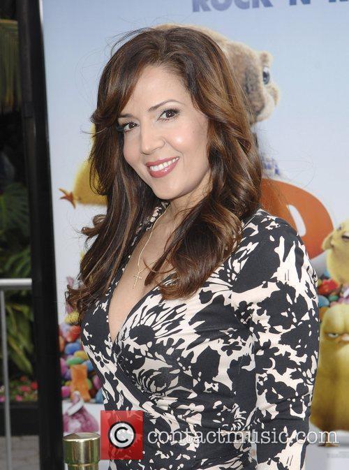 Maria Canals-Barrera,  Los Angeles premiere of 'Hop'...