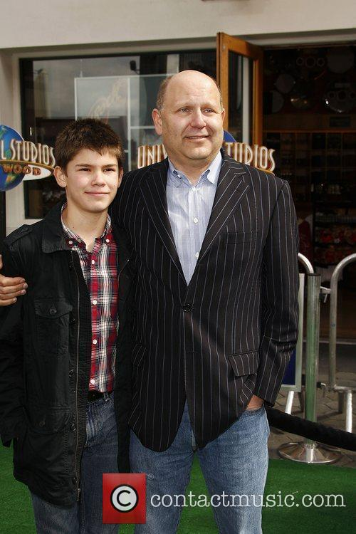 Chris Meledandri, son,  Los Angeles premiere of...
